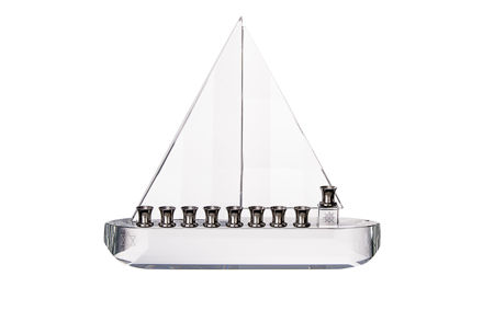 Picture of #582 Crystal Sailboat