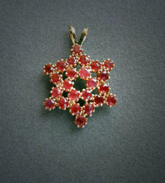 Picture of #G1021 Ruby Star