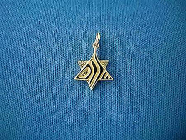 Picture of #G1028 Shalom Star of David