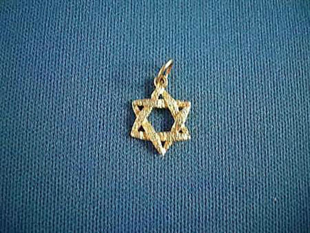 Picture of #G106 Stippled Star of David