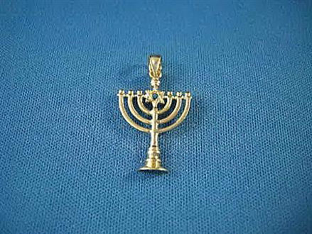 Picture of #G307 Menorah Charm