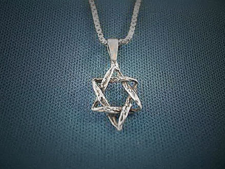 Picture of #S117 Antiqued Star of David