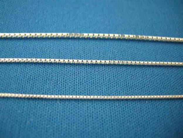 Picture of Sterling Silver Box Chain Light