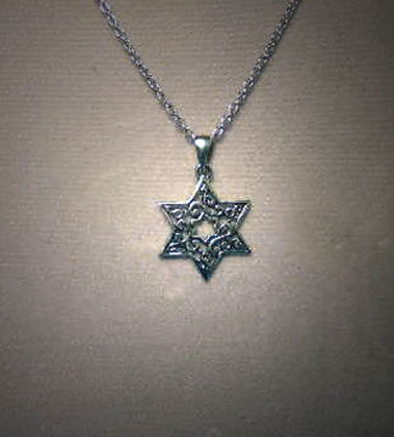 Picture of #S196 Mooresque Star of David