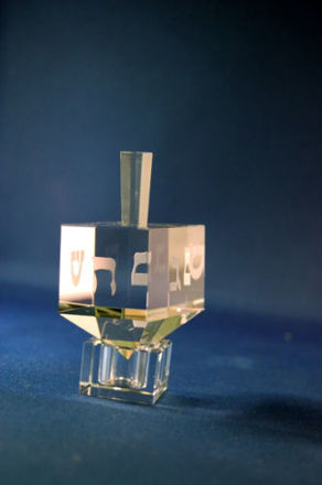 Picture of #505 Classic Crystal Dreidel