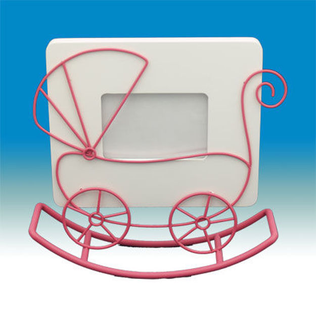 Picture of #647 Pink Baby Carriage