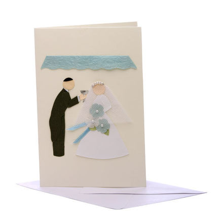 Picture of Bride and Groom Card