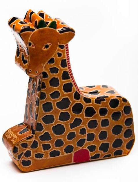 Picture of #100-6 Cashbah Stretch - Giraffe