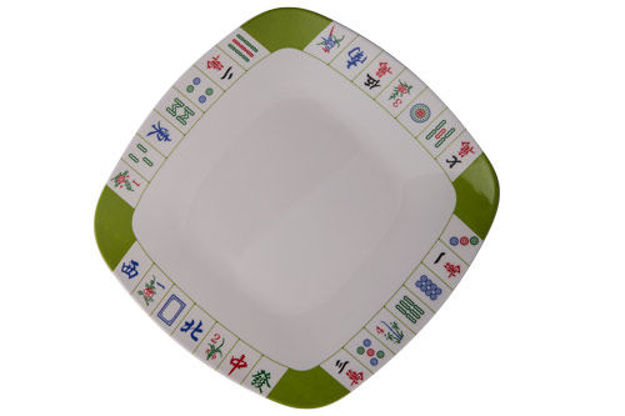 Picture of #413L Jongg Luncheon Plate