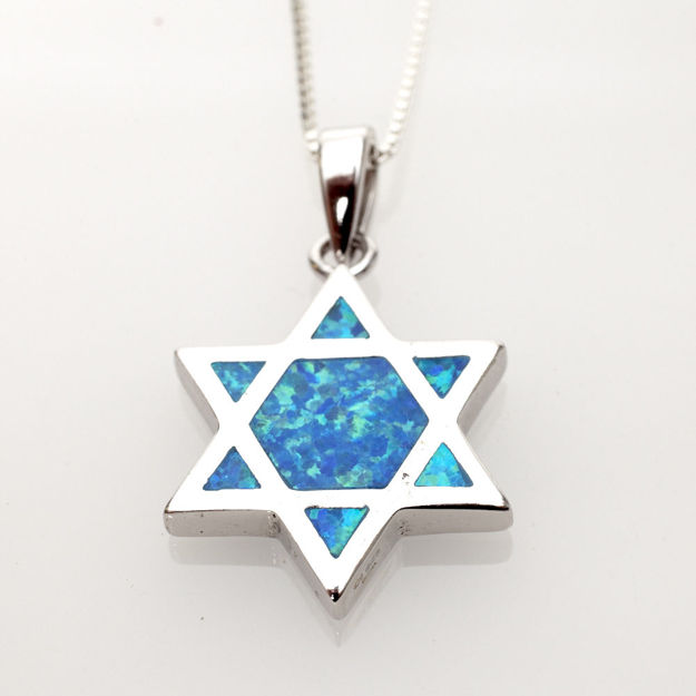 Picture of #S760 Opalescent Star od David