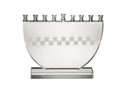 Picture of #665-M Checker Board menorah