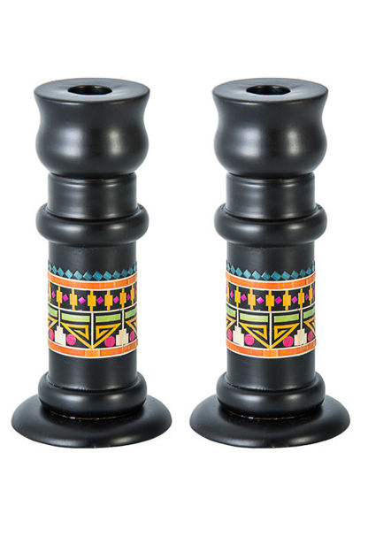 Picture of Pharonic Shabbat Candlesticks