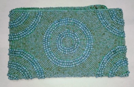 Picture of #B605-05 Beaded Purse Large