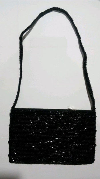 Picture of #B605-16 Beaded Purse Large