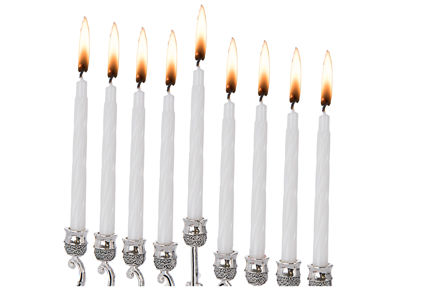 Picture of #567 Channukah Candles White