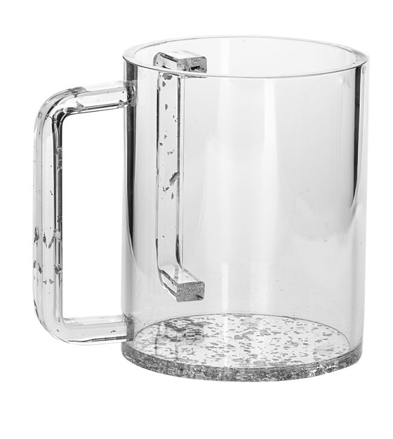 Picture of #7070-S Wash Cup Silver Lucite
