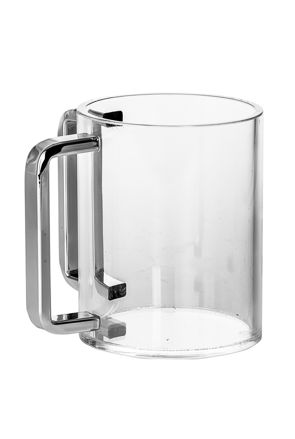 Picture of #7072-S Wash Cup Lucite Silver handles