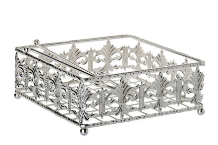 Picture of #15121 Napkin Holder Silver plated