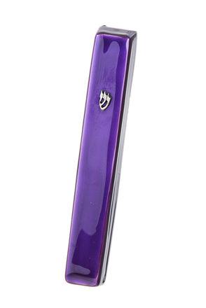 Picture of #4850-PR Mezuzah Purple Large Enamel
