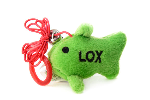 Picture of #940 Lox the Fish Crazy Kitty cat nip