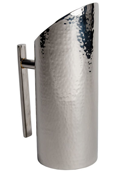 Picture of #12001 Pitcher Stainless Steel Hammered