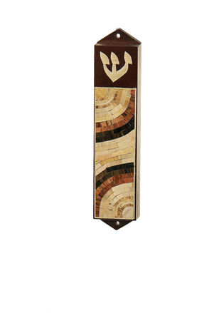 Picture of #C131 Mezuzahs Wood and Straw