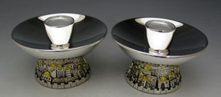 Picture of Candlestick With Jerusalem Base