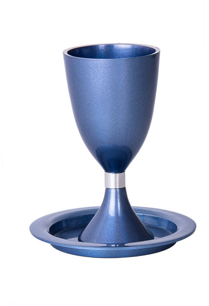 Picture of #822 Kiddush Cup Blue