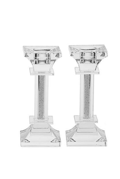Picture of Candle Stick Crystal and Silver